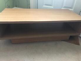 Tv unit - oak veneer