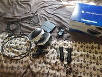 Playstation VR + PSVR Camera +2 x PS Move Controllers + 2 x PS VR Games