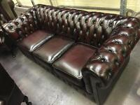 ORIGINAL Chesterfield - Professional Restoration Included!!