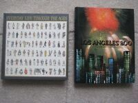 """Readers Digest """"Everyday Life Through The Ages"""" and """"Los Angeles 2000 A Bicentennial Celebration"""""""