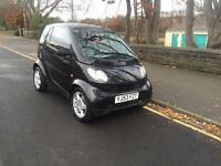 2004 53 SMART CAR CITY PUR 698 CC TURBO SEMI AUTO BLACK