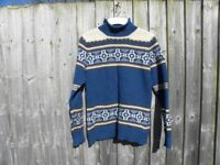 Ladies Lambswool Norweigen style Jumper