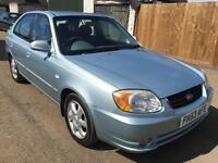 Hyundai Accent 1.6 CDX 5dr AUTOMATIC LEATHER MINT CONDITION
