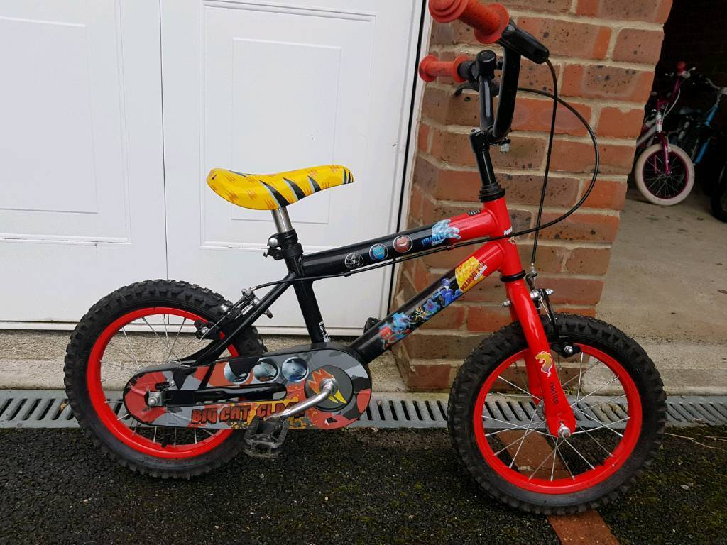 """Boys 14""""wheel bike."""