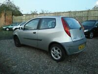 Fiat punto 1.2 petrol, long mot, excellent runner , cheap insurance