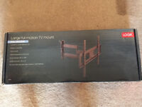 LOGIC Full Motion wall mount, suitable for TV screen sizes up to 50 inches.