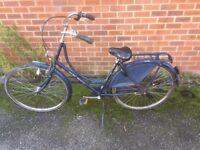 Classic Dutch ladies cycle