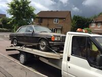 1984 CLASSIC CAR MERCEDES BENZ 230E W123 AUTO AUTOMATIC DRY STORED 8YRS + NEW ENGINE BARGAIN £1395