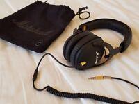 Marshall Monitor Headphones in Black