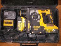 Dewalt 18v drill/chisel DCH274