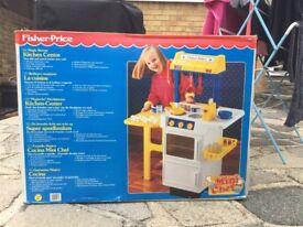 Vintage Fisher Price magic kitchen