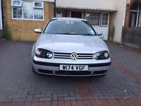 VOLKSWAGEN GOLF MK4 1.6L | 12 MONTHS MOT | FULL SERVICE | not audi ford bmw astra civic polo gti