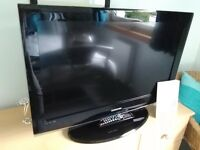 Samsung 32 inch LCD TV, freeview, two HDMI ports. Remote control and user manual available