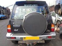 BREAKING --- Suzuki Vitara JX4 U Hard-Top 1.6L Petrol Estate 79BHP ---- 1999