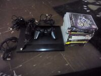 Ps3 superslim with 13 games