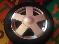1 Ford Fiesta Alloy Wheel 195-50-R15