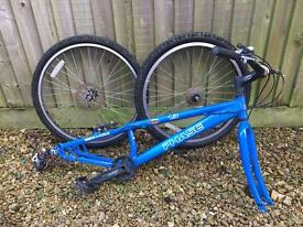 Trial Bike Frame and Wheels- M.A.D Phase 1.3