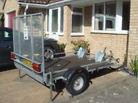 Armitage Twin Motor Bike/Quad Bike Bespoke Trailer - 7 x 5 - only 10 months old/only driven 100 mls