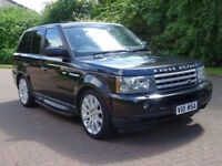 2009 09 LAND ROVER RANGE ROVER SPORT 3.6 TDV8 SPORT HSE 5d AUTO 269 BHP*PART EX WELCOME*
