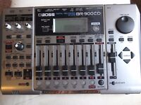Boss BR900CD 8Track with cd burner and effects