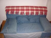 double sofa bed from smoke and pet free home
