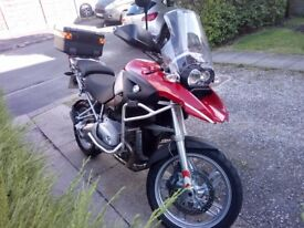 BMW r1200 GS adventure bike. Lowest miles ever.