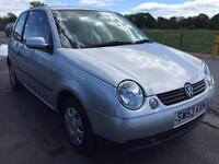 SALE! Bargain vw Volkswagen lupo, full years MOT, low miles, ready to go