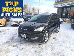 2013 Ford Escape SE AWD, LEATHER, NAVIGATION, 2.0 LITRE, BACK UP