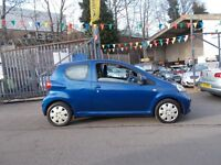 Toyota Aygo 1.0 VVT-i Blue 3dr **IDEAL FIRST CAR** £20 ROAD TAX