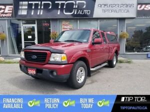 2009 Ford Ranger Sport ** Automatic, Air Conditioning, Cap **