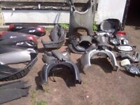 Piaggio x9 250 and 125cc parts spares