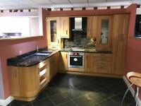 Ex display lindon oak kitchen
