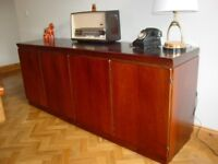 Lovely Very Large Retro Vintage Danish SKOVBY Sideboard Cabinet