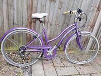 "Real Verve Womens Hybrid Bike - 16"""