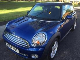 ***SORRY SOLD***2007 MINI COOPER 1.6 PETROL 3 DOOR LONG MOT 6 SPEED GEARBOX ONE FORMER KEEPER