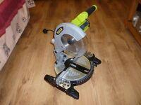 Guild 1200watt 210mm 240volt compound mitre saw brand new