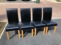 4 x Dining Table Chairs (Damaged)