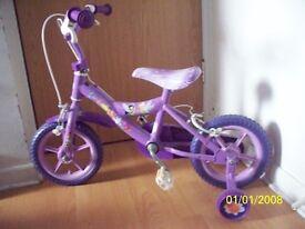 child's fairy bike