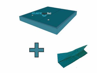 Wasserbett Matratze DUAL Set 2 Stück inkl. Trennwand Wasserkern Softside - 2 Stück Set Matratze