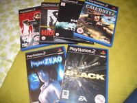 Playstation 2 Selection of games