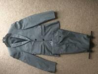 Mens Burtons Grey Suit Small