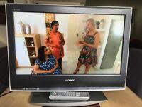 "Sony Bravia 26"" LCD HD TV, HDMI, Freeview + remote"