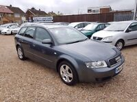 Audi A4 Avant 1.9 TDI SE 5dr, 1 PREVIOUS OWNER. FSH. MOT TILL MARCH 18. 6 SPEED GEARBOX.