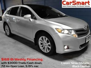 2014 Toyota Venza XLE, Leather, PanaRoof, Bluetooth, Reverse Cam