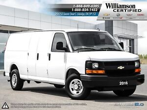 2016 Chevrolet Express 2500 EXTENDED CARGO**AIR CONDITIONING**PW