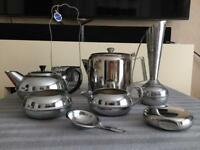 Nice collection of stainless steel and chrome items