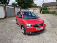 Audi A2 Colour Storm Red edition 1.6 Fsi petrol very well loved and in great condition