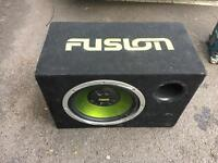 Fusion sub with amp