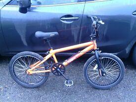Mongoose subject BMX bike