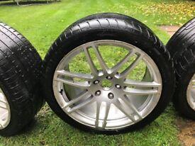 Audi Q7 S Line genuine 21 inch Alloy Wheels